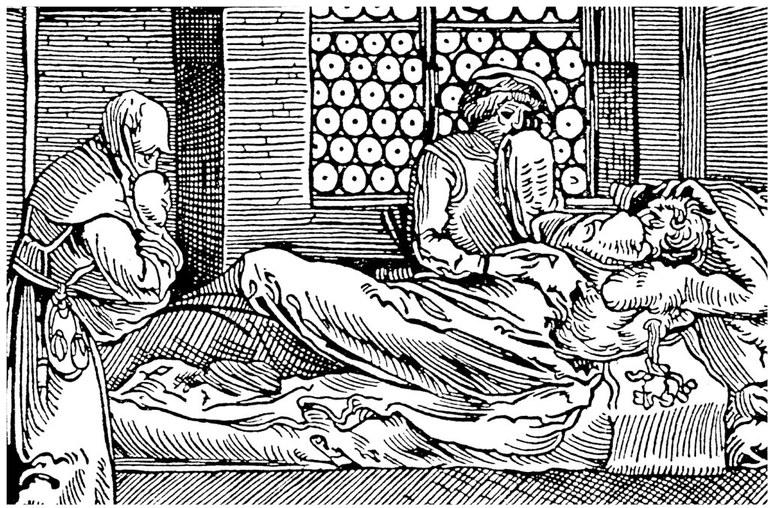 Pestoppfer im 15. Jahrhundert