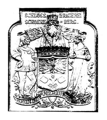 Wappen der Schlossbrauerei