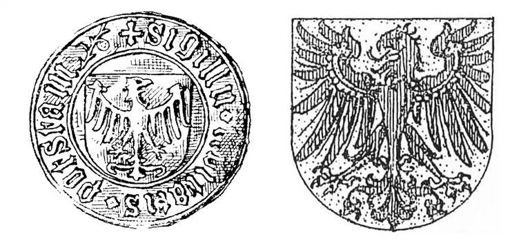 Stadtsiegel von Potsdam (15.Jahrhundert und 1890)