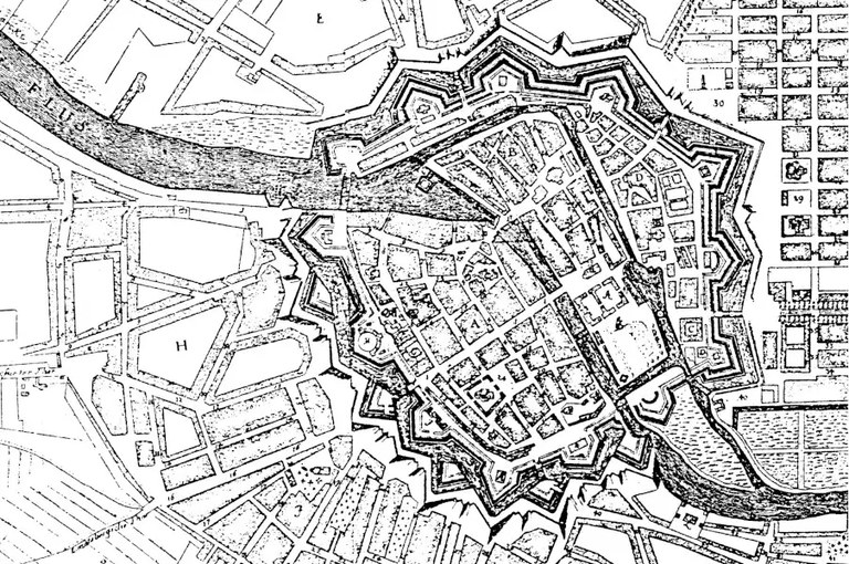 Fortifikation Berlin, 1688