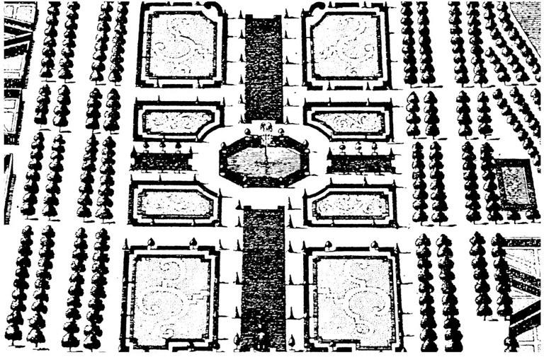 Parterre des Kurfürstlichen Lustgartens
